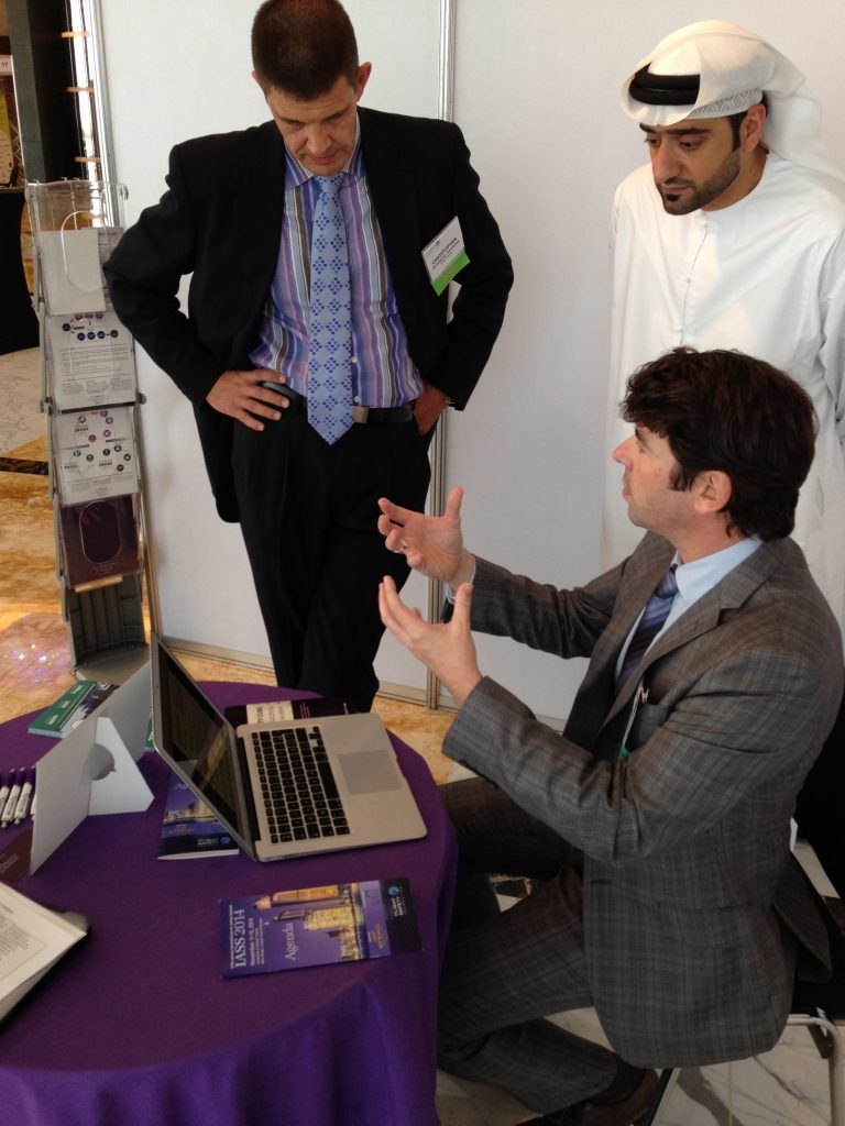 Safety Line attends IASS 2014, in Abu Dhabi