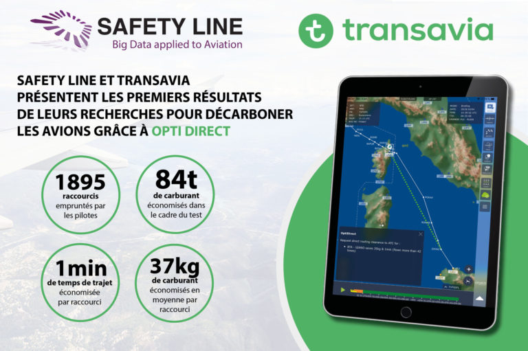 Safety Line and Transavia present first OptiDirect results (french)